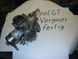 Opel GT Vergaser restauriert